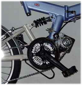 Cyclone Electric Bicycle Transmission